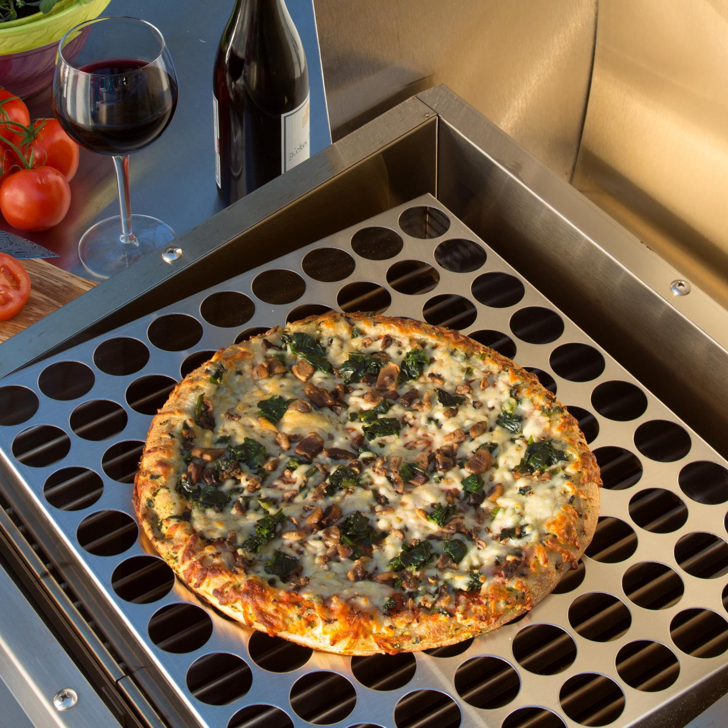 TEC Patio FR Series Stainless Steel Pizza Rack