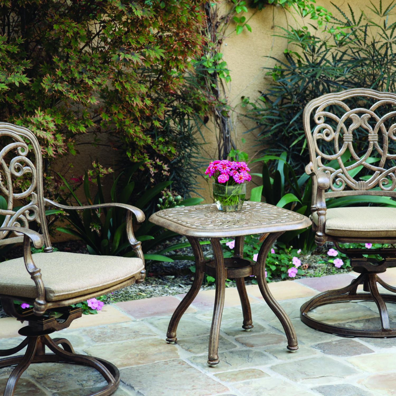 Darlee Florence 3 Piece Patio Bistro Set
