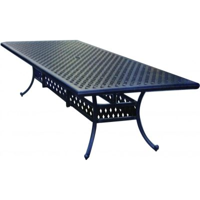 Darlee Series 30 Cast Aluminum Patio Dining Table - Antique Bronze