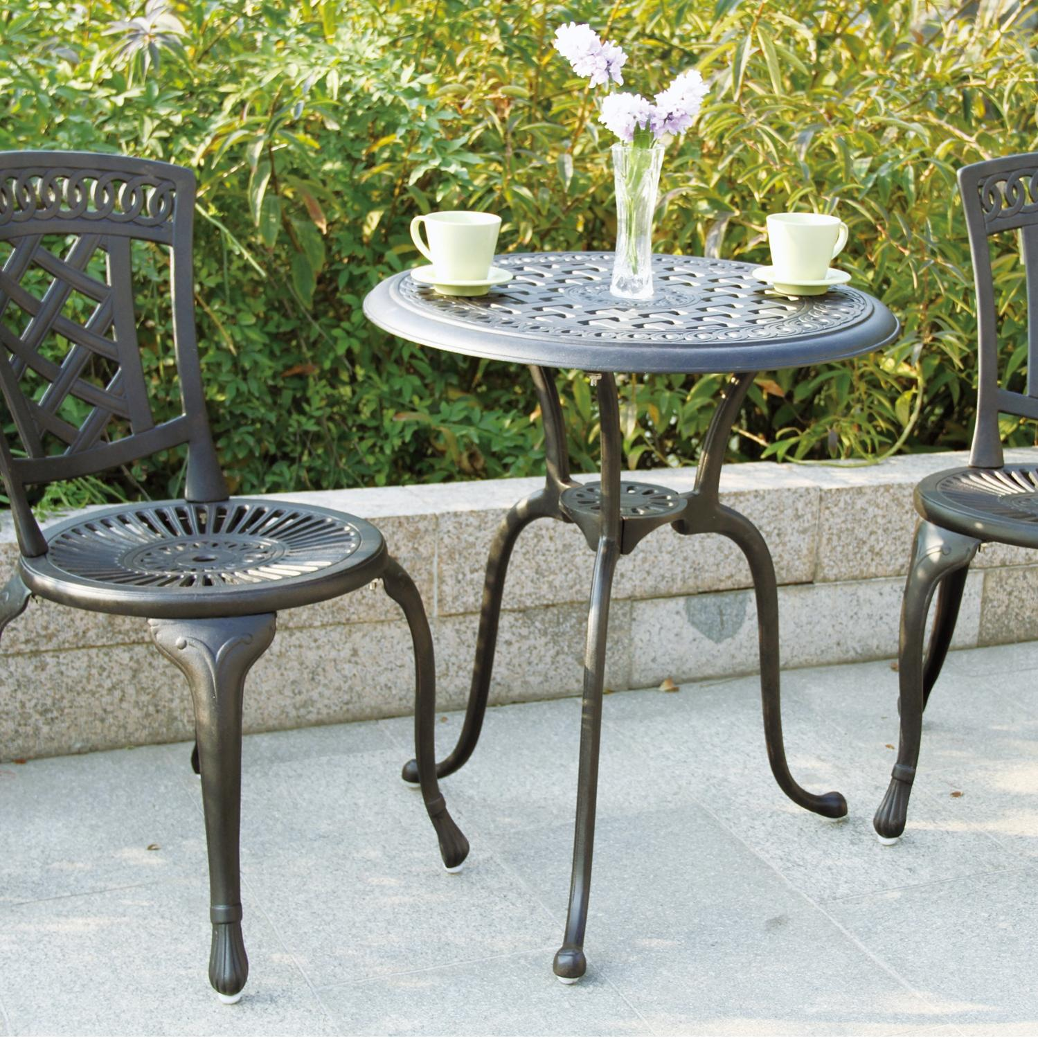 Darlee New Port 3 Piece Patio Bistro Set