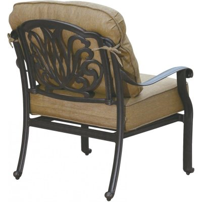 Darlee Elisabeth Patio Deep Seating Lounge Chair - Antique Bronze