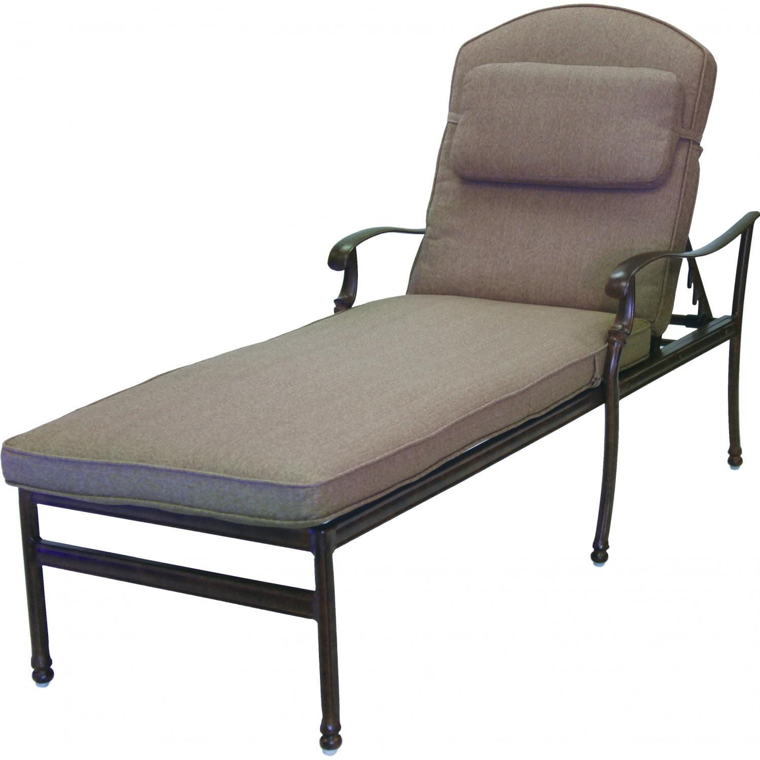 Darlee Florence 3 Piece Patio Chaise Lounge Set The