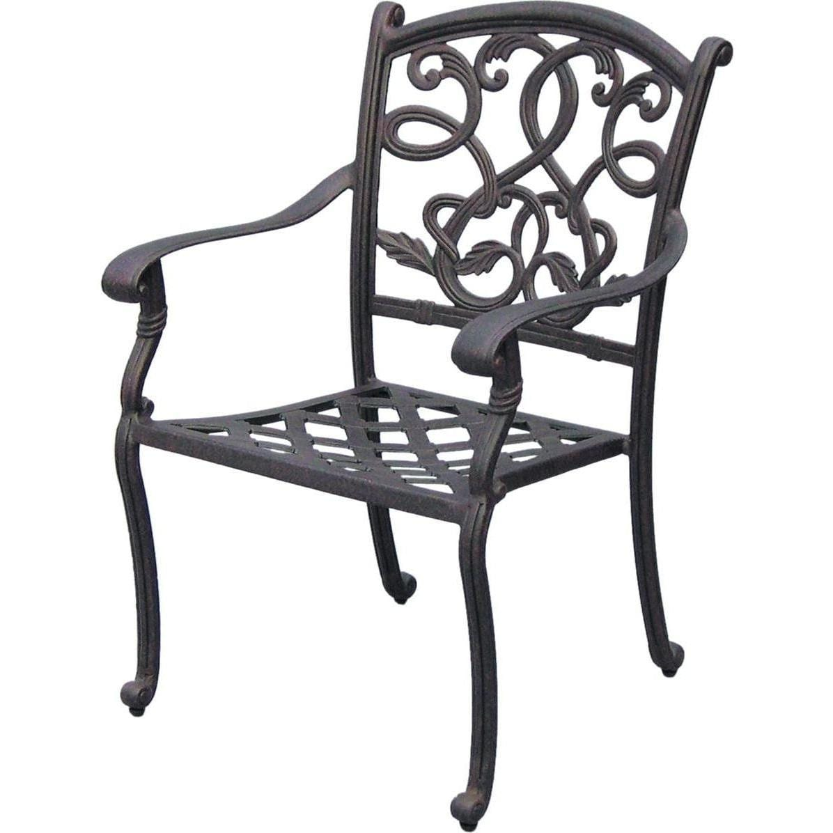 Darlee Santa Monica 9 Piece Cast Aluminum Patio Dining Set