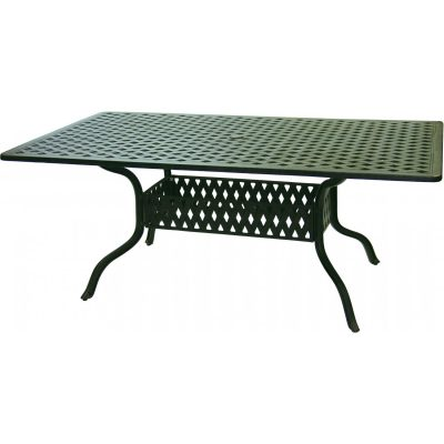 Darlee Series Patio Dining Table - Antique Bronze