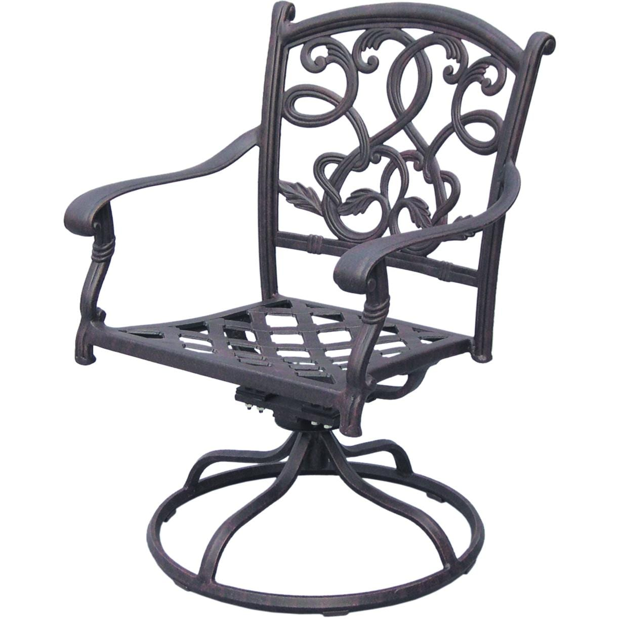 Darlee Santa Monica 11 Piece Cast Aluminum Patio Dining Set