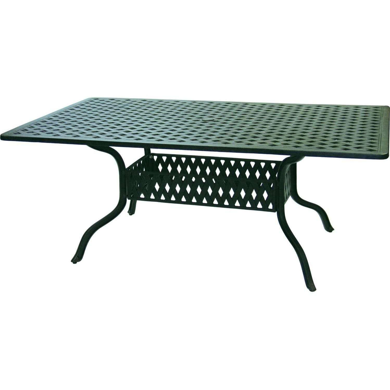 Darlee Sedona 7 Piece Cast Aluminum Patio Dining Set