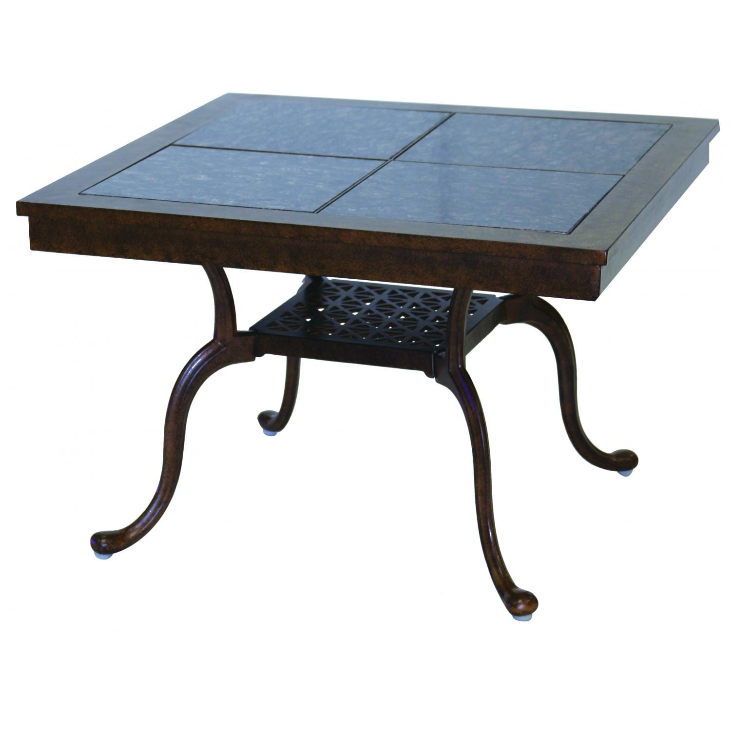 Darlee Series 77 Cast Aluminum Patio End Table