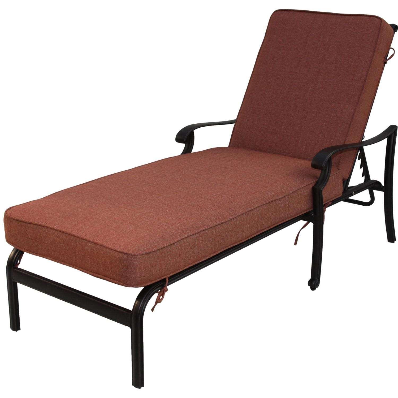 Darlee St. Cruz Cast Aluminum Patio Chaise Lounge