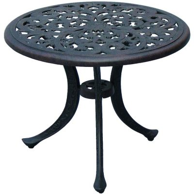 Darlee Series 80 Patio End Table - Antique Bronze