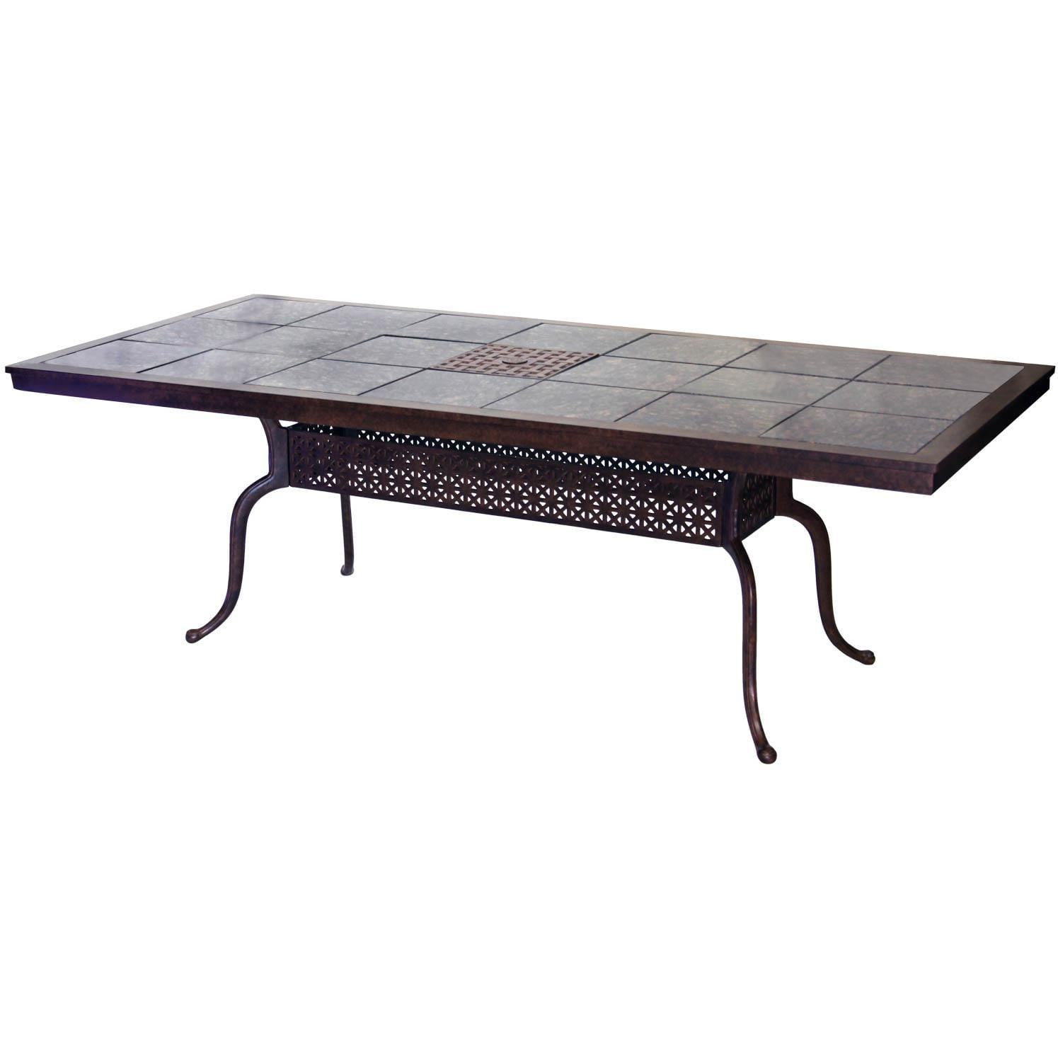 Darlee Series 77 Aluminum Patio Dining Table