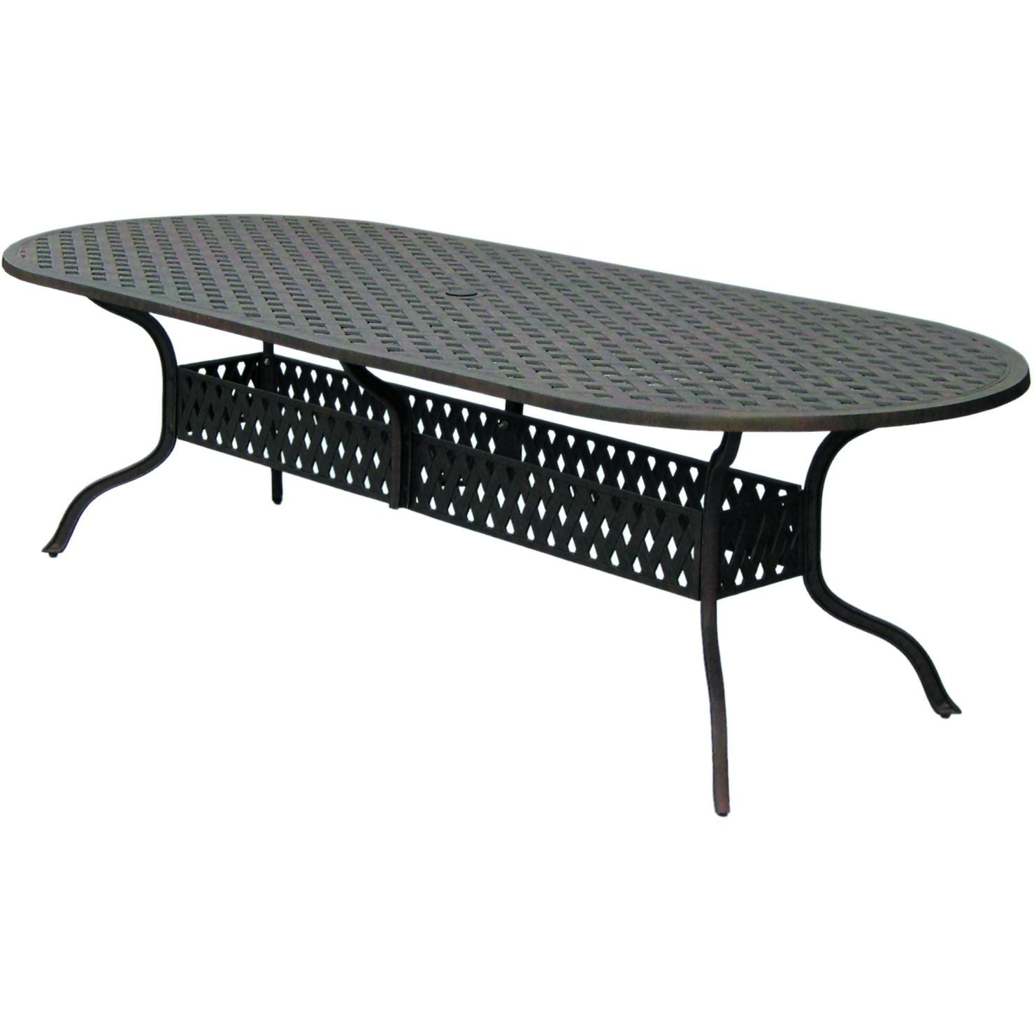 Darlee Series 30 Aluminum Dining Patio Table