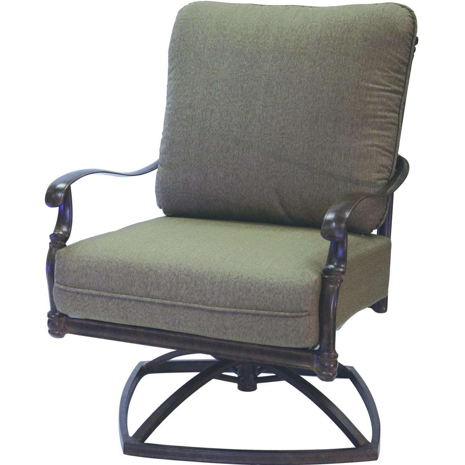 Darlee Florence 3 Piece Cast Aluminum Conversation Seating Set