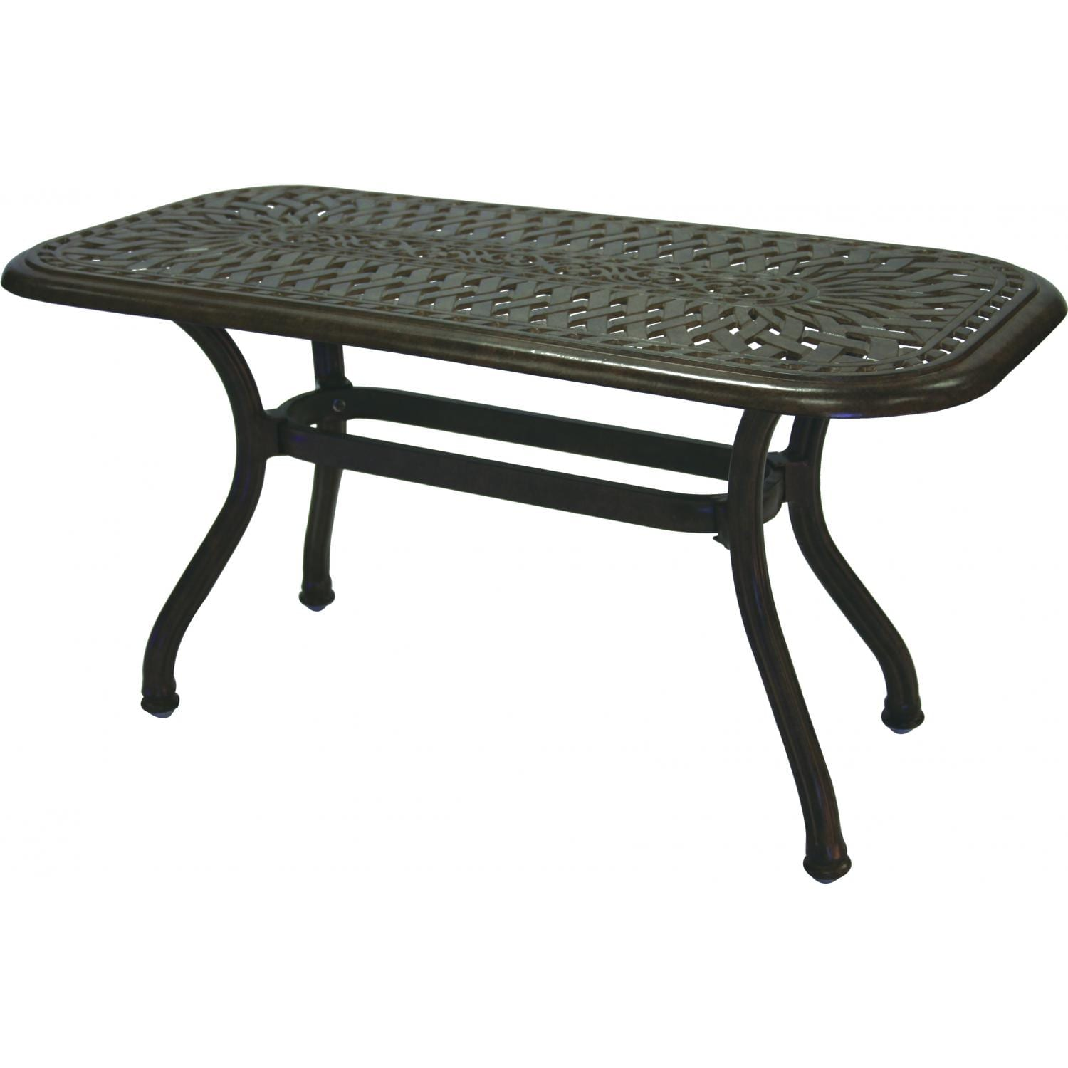 Darlee Series 60 Aluminum Patio Coffee Table