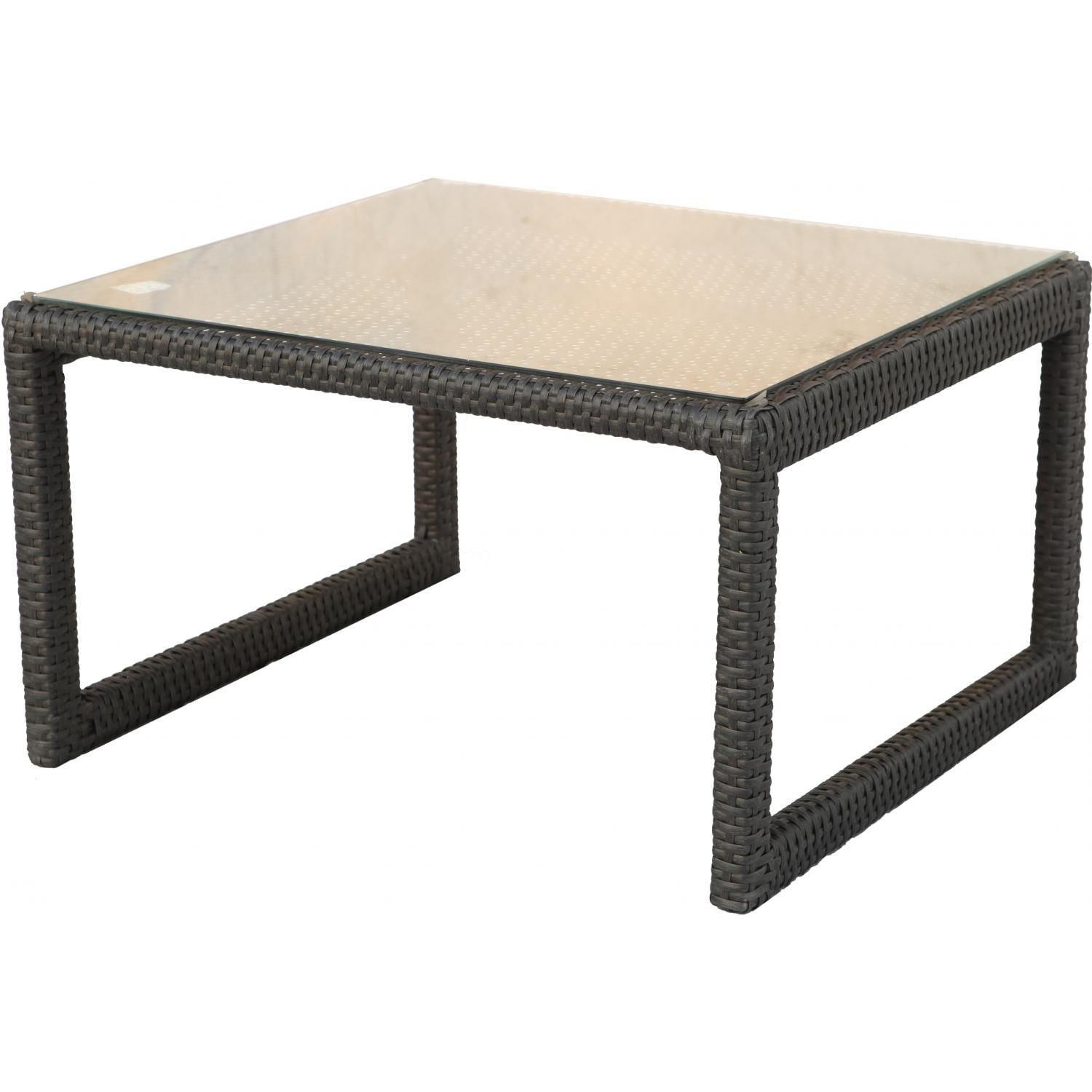 Darlee Vienna Resin Wicker Patio End Table