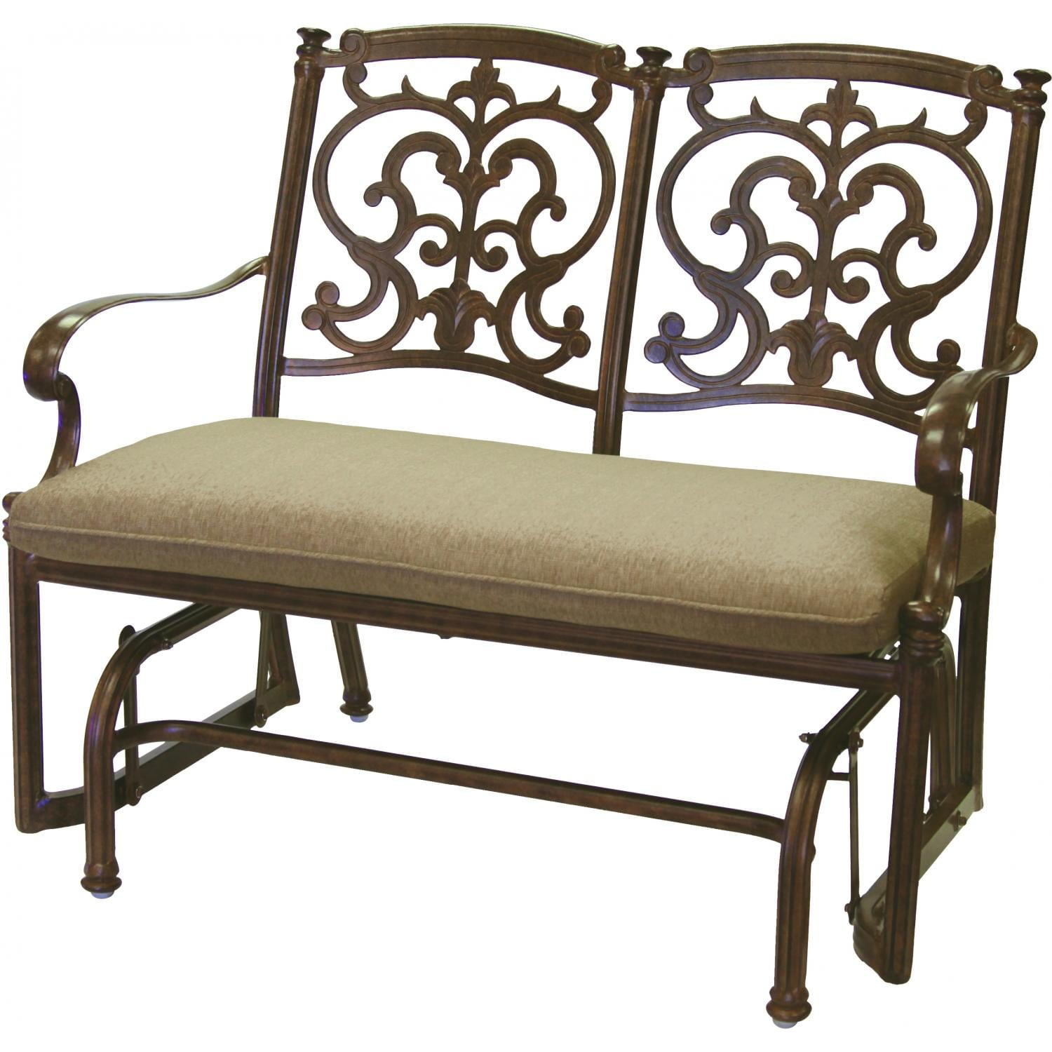 Darlee Santa Barbara Patio Bench Glider