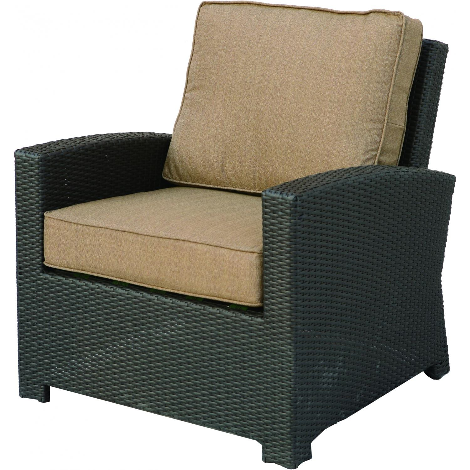 Darlee Vienna Resin Wicker Patio Club Chair