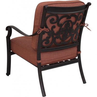 Darlee St. Cruz Deep Seating Patio Dining Chair - Antique Bronze