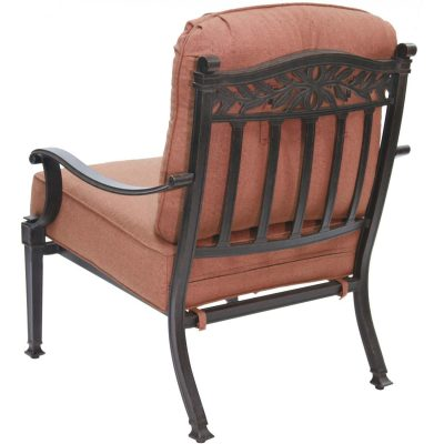 Darlee Charleston Patio Deep Seating Lounge Chair - Antique Bronze