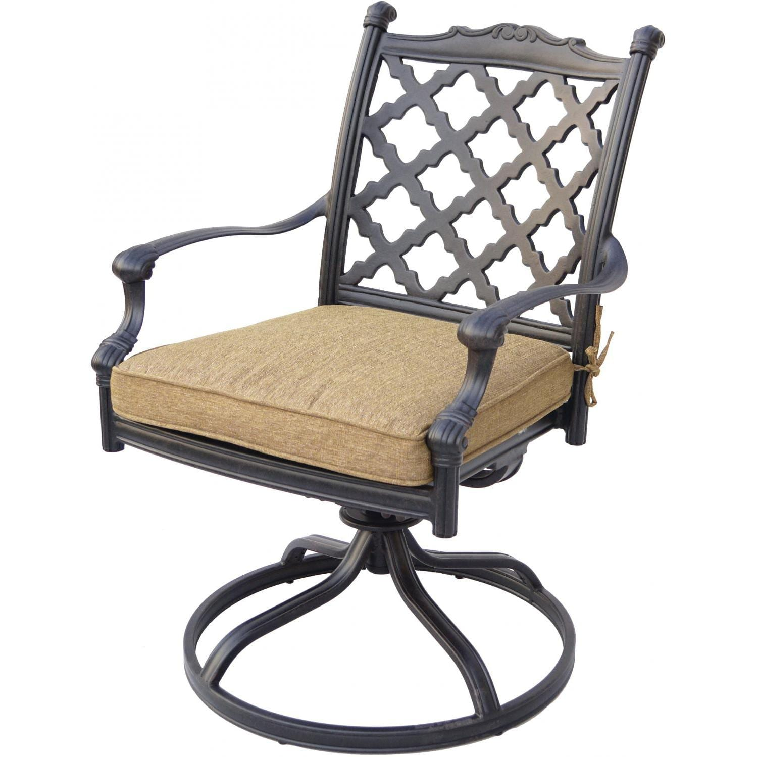 Darlee Camino Real Patio Swivel Rocker Dining Chair