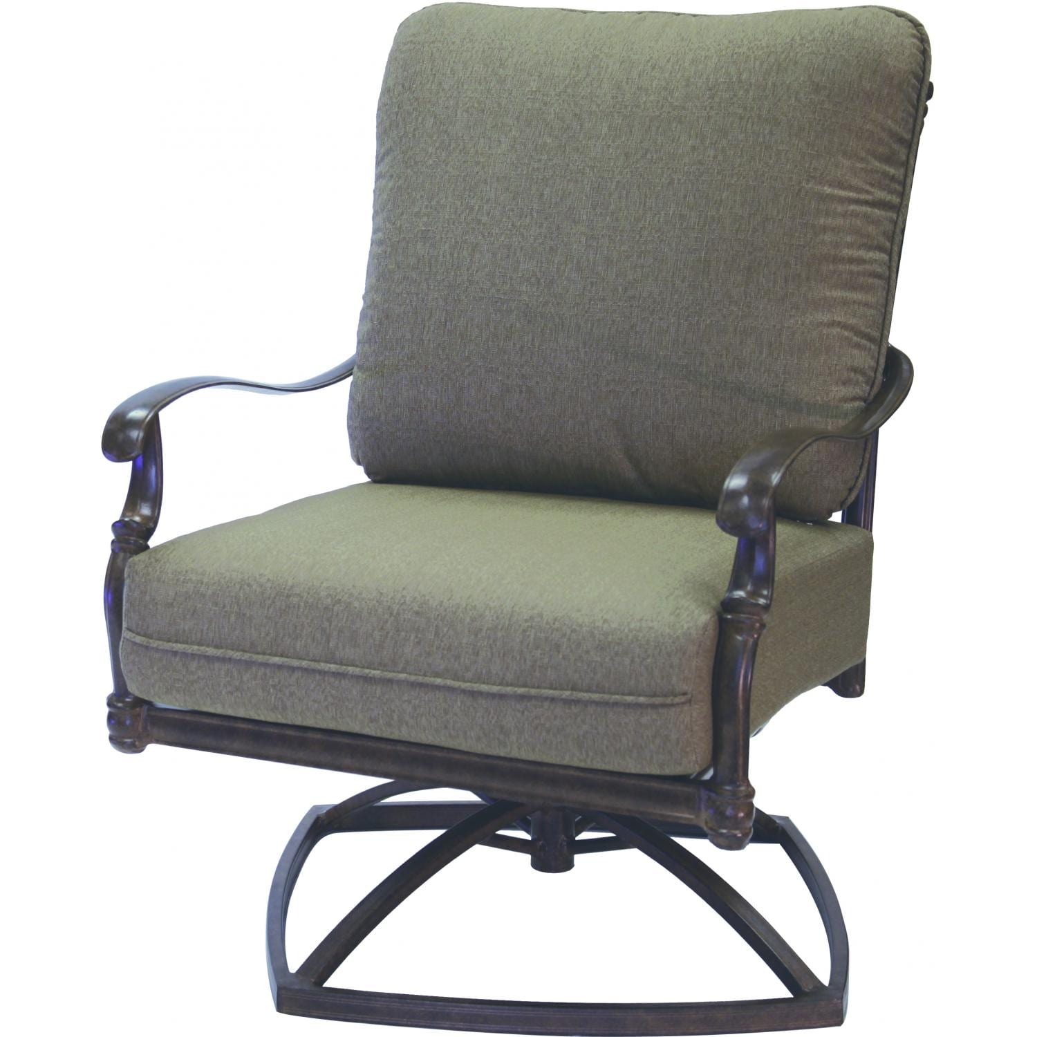 Darlee Florence Swivel Rocker Club Chair
