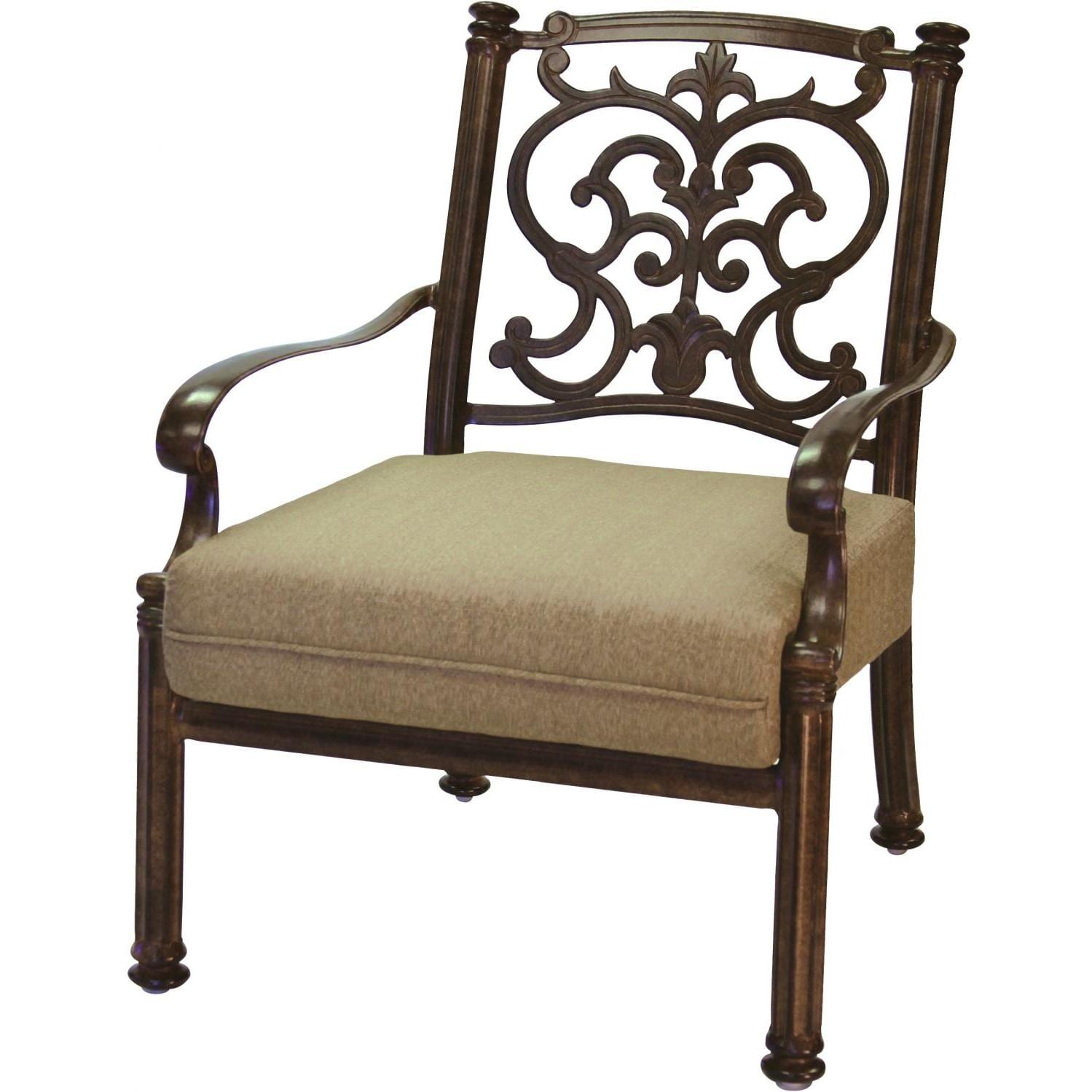 Darlee Santa Barbara Cast Aluminum Patio Club Chair
