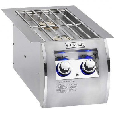 Fire Magic Echelon Diamond Propane Gas Built-In Double Side Burner 32814P