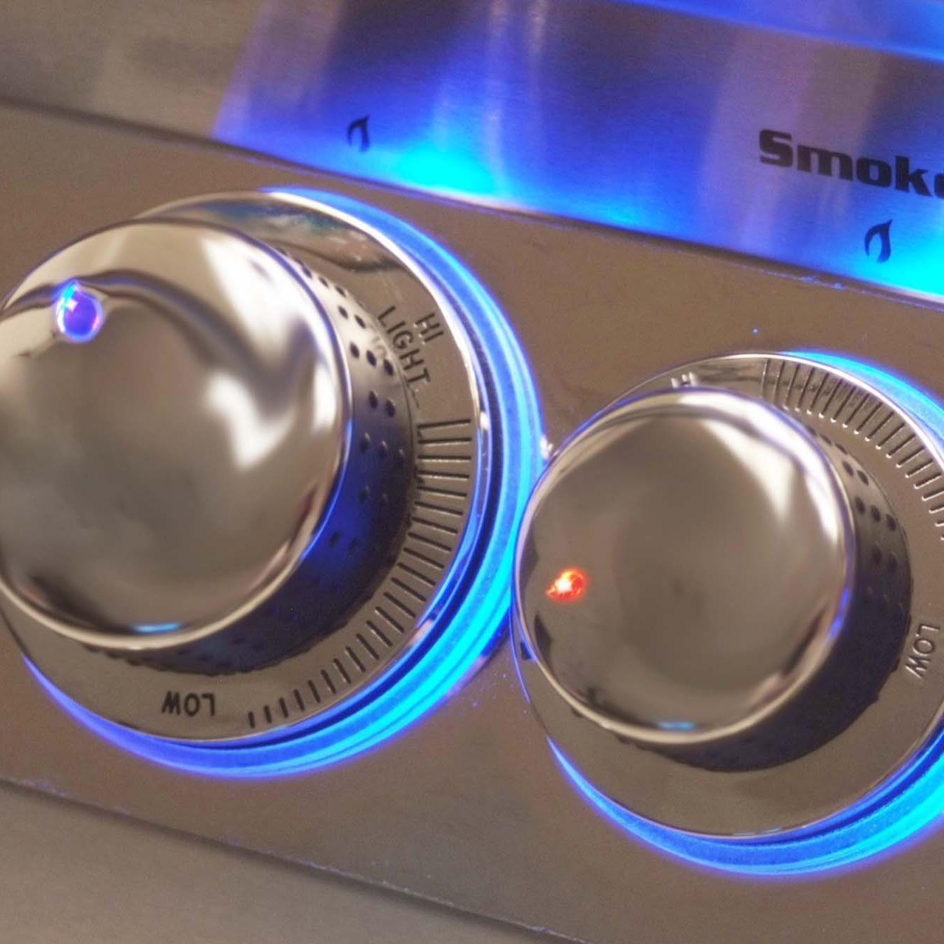 Fire Magic Echelon Diamond E790s Gas Grill - Back Lit Safety Knobs