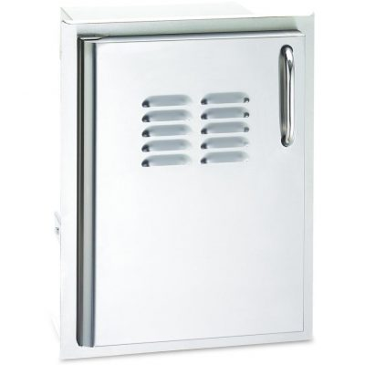 Fire Magic Select 14 Inch Left-Hinged Single Access Door With Propane Tank Storage