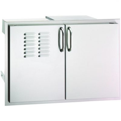 Fire Magic Select 30 Inch Double Access Door With Drawers And Propane Tank Storage