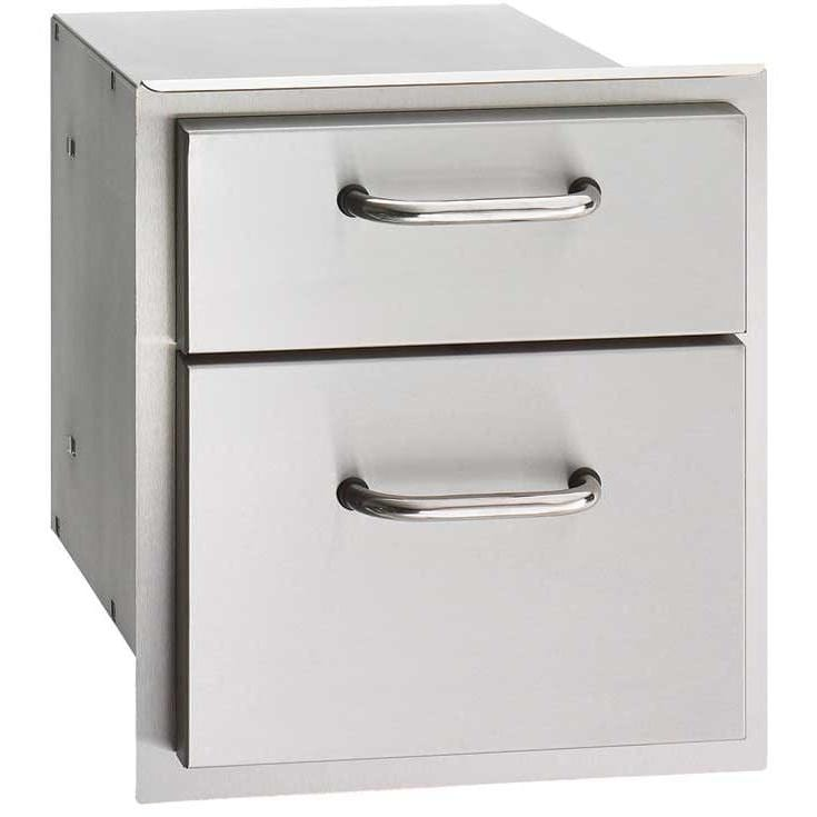 Fire Magic Select 14-Inch Double Access Drawer