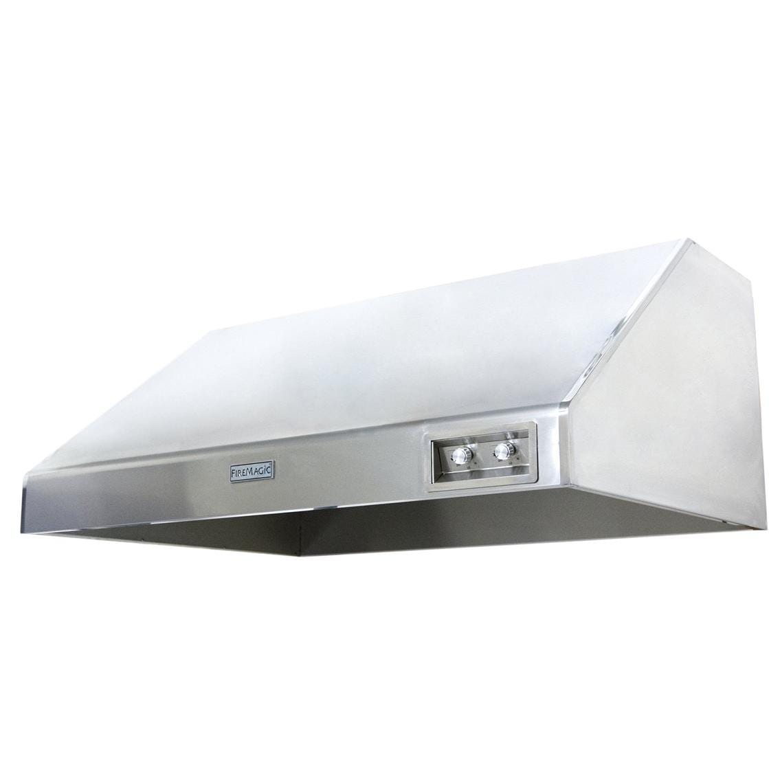 Fire Magic 48-Inch Stainless Steel Outdoor Vent Hood