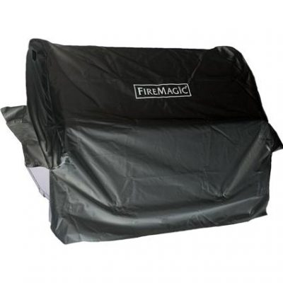 Fire Magic Grill Cover For Aurora A540 Built-In Gas Grill Or 30-Inch Built-In Charcoal Grill