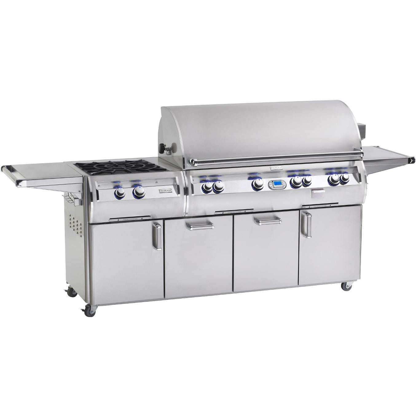 Fire Magic Echelon Diamond E1060s Propane Gas Grill With Power Burner On Cart