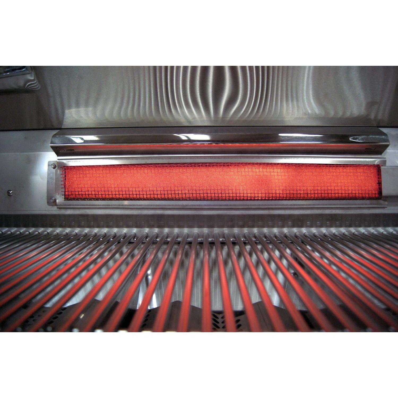 Fire Magic Echelon Diamond E660i Natural Gas Grill on Cart - Infrared Rear Rotisserie Burner