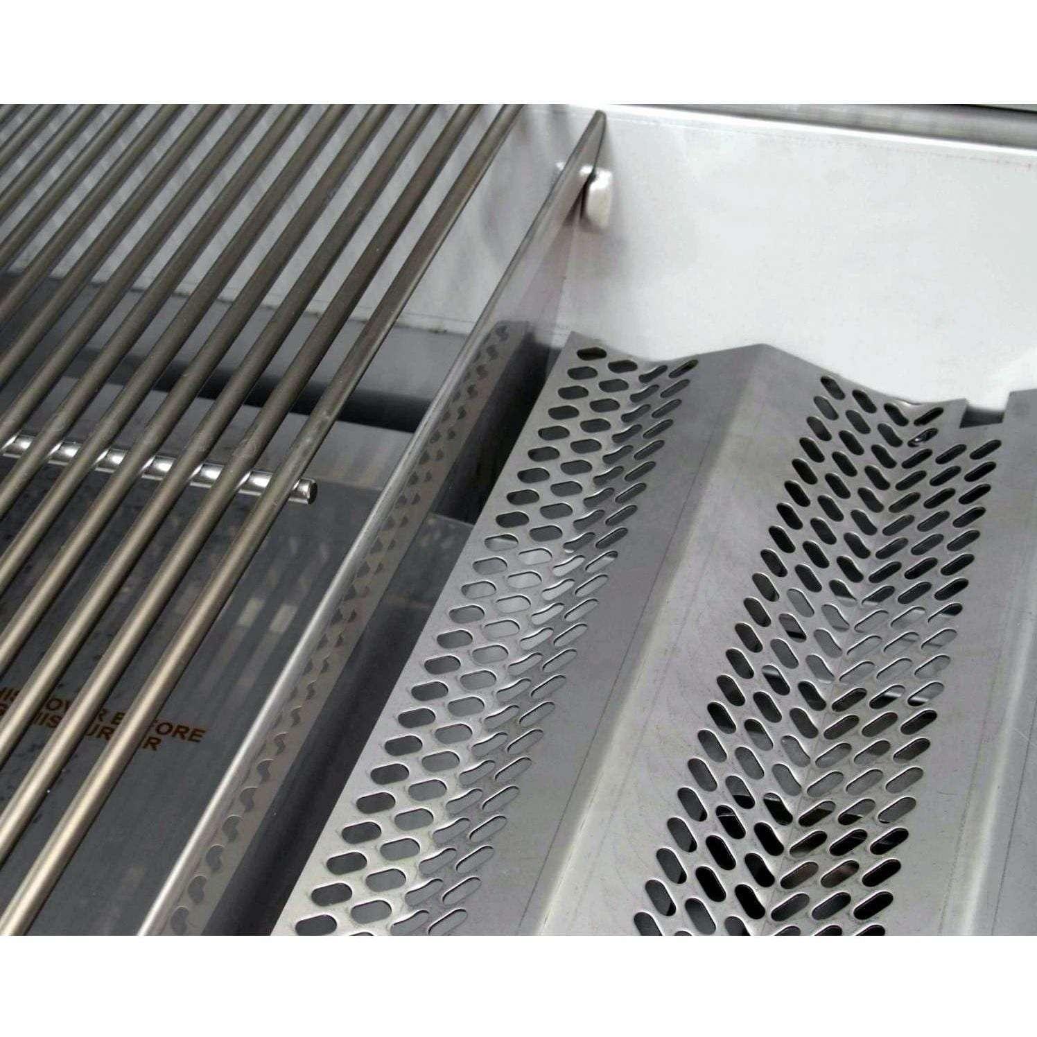 Fire Magic Echelon Diamond E660i Natural Gas Grill on Cart - Heat Zone Separators