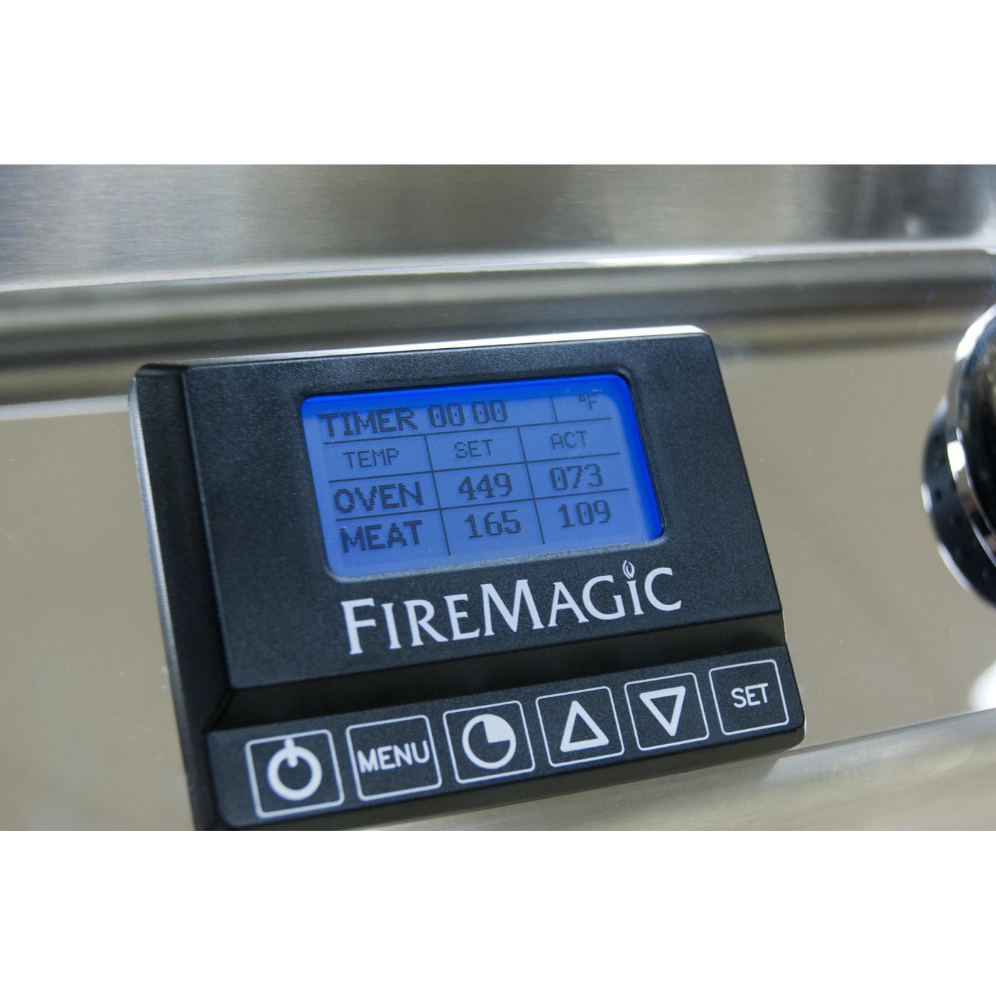 Fire Magic Aurora A430s 24 Inch Freestanding Grill - Digital Thermometer