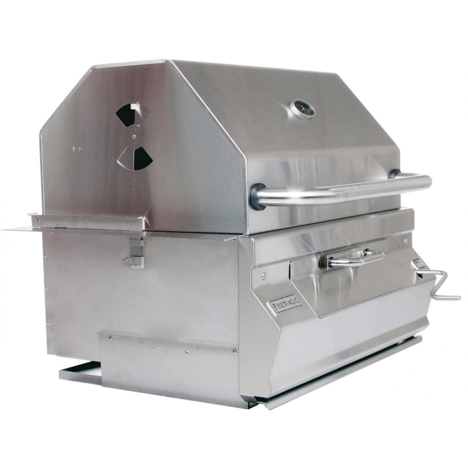 Fire Magic Outdoor Kitchen: Fire Magic Legacy Meat Smoker Charcoal Grill 30-Inch