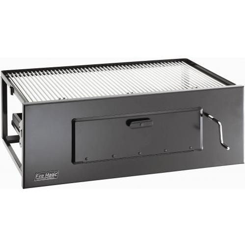 Fire Magic Lift-A-Fire Charcoal Grill