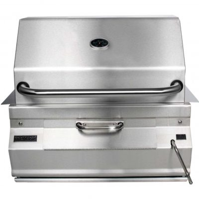 Fire Magic Charcoal Grills Legacy Smoker Grill - Side View
