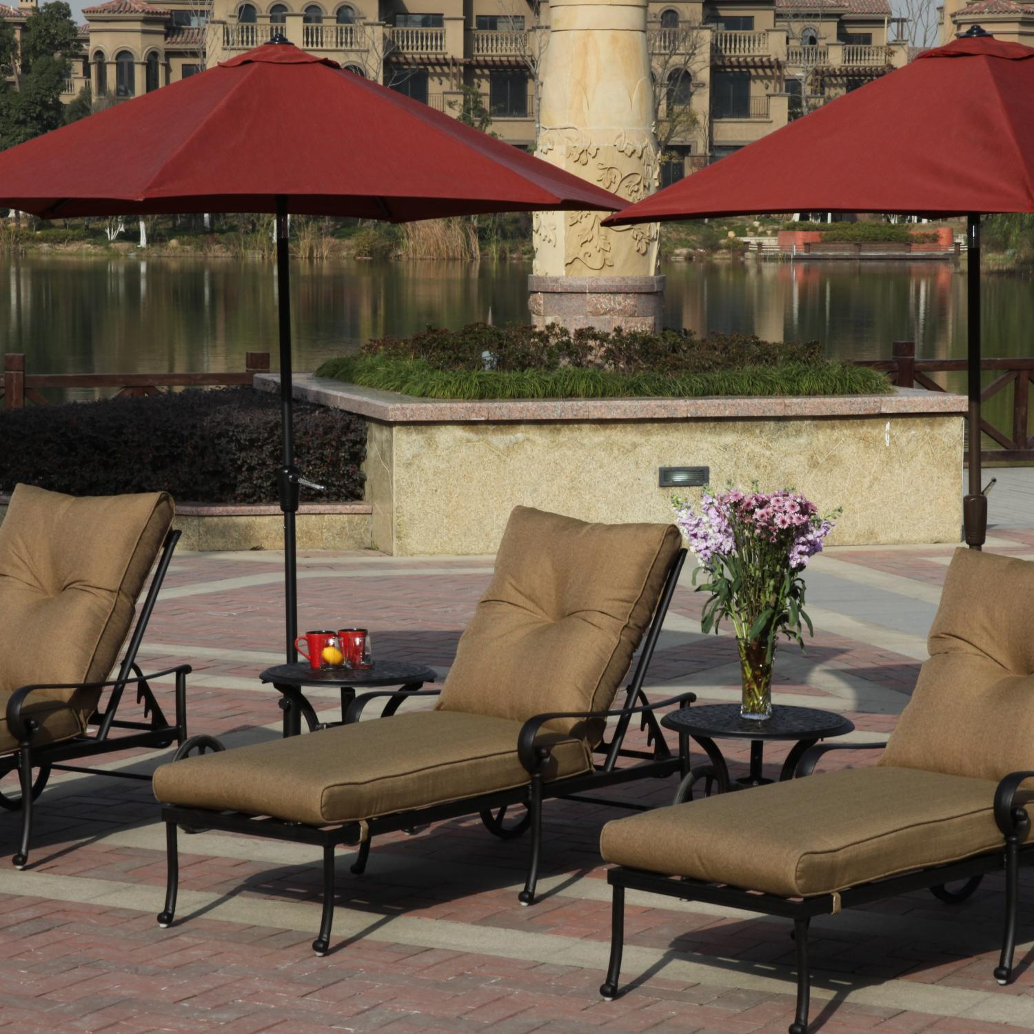 Darlee Outdoor Chaise Lounge Sets