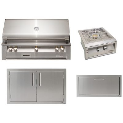 Alfresco 4-Piece Outdoor Kitchen Package