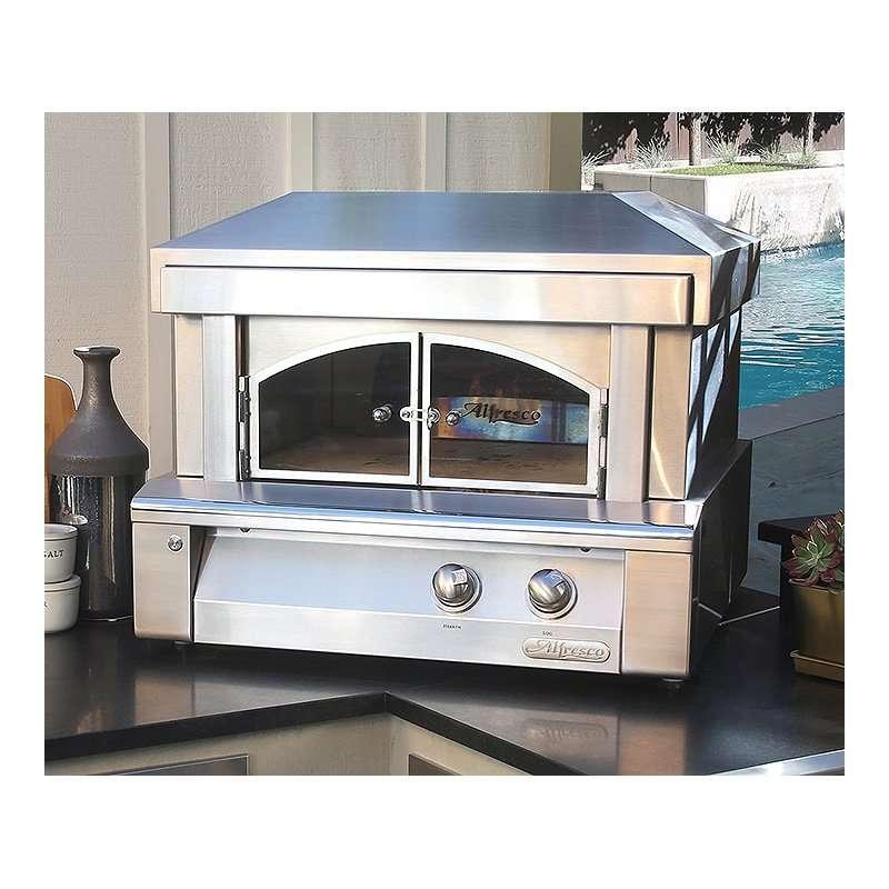Alfresco 30-Inch Outdoor Pizza Oven