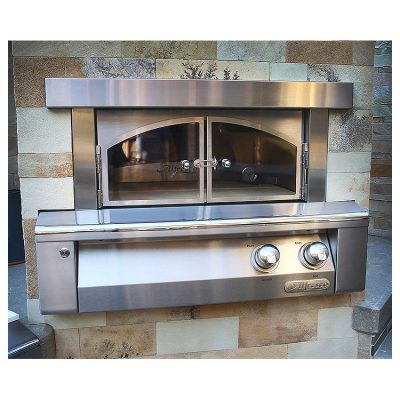 Alfresco 30-Inch Built-In Outdoor Pizza Oven