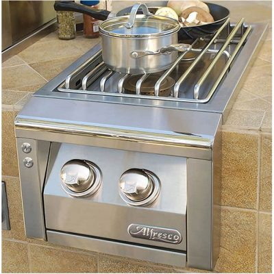 Alfresco Double Side Burner