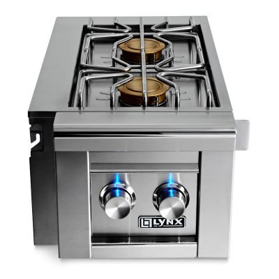 Lynx Professional Cart Mount Double Side Burner