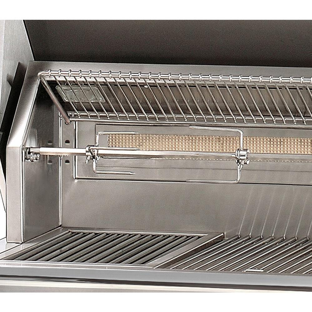 Alfresco Gas Grills ALXE 30-Inch Built-In NG Grill - Rotisserie