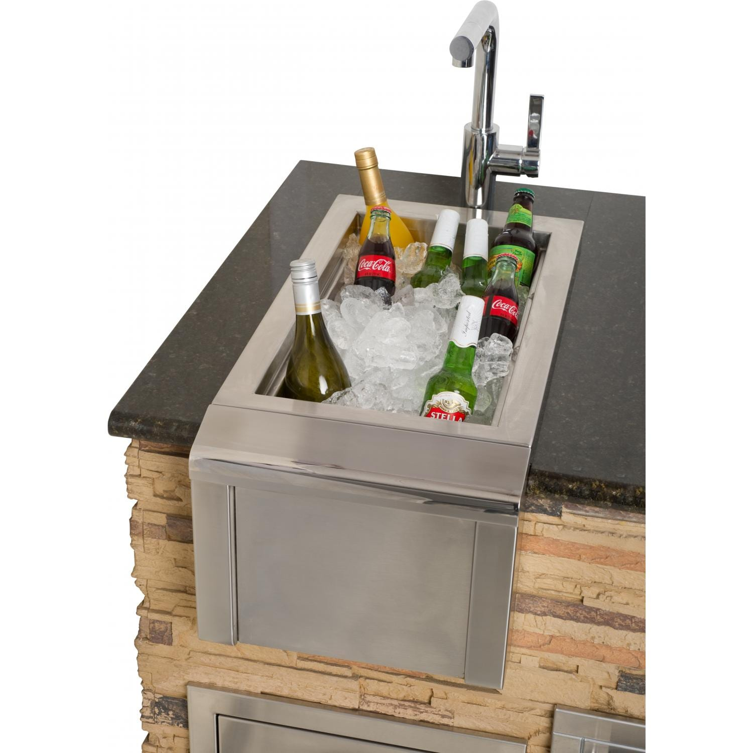 Alfresco 14 Inch Versa Bartender U0026 Sink System As Ice Bath