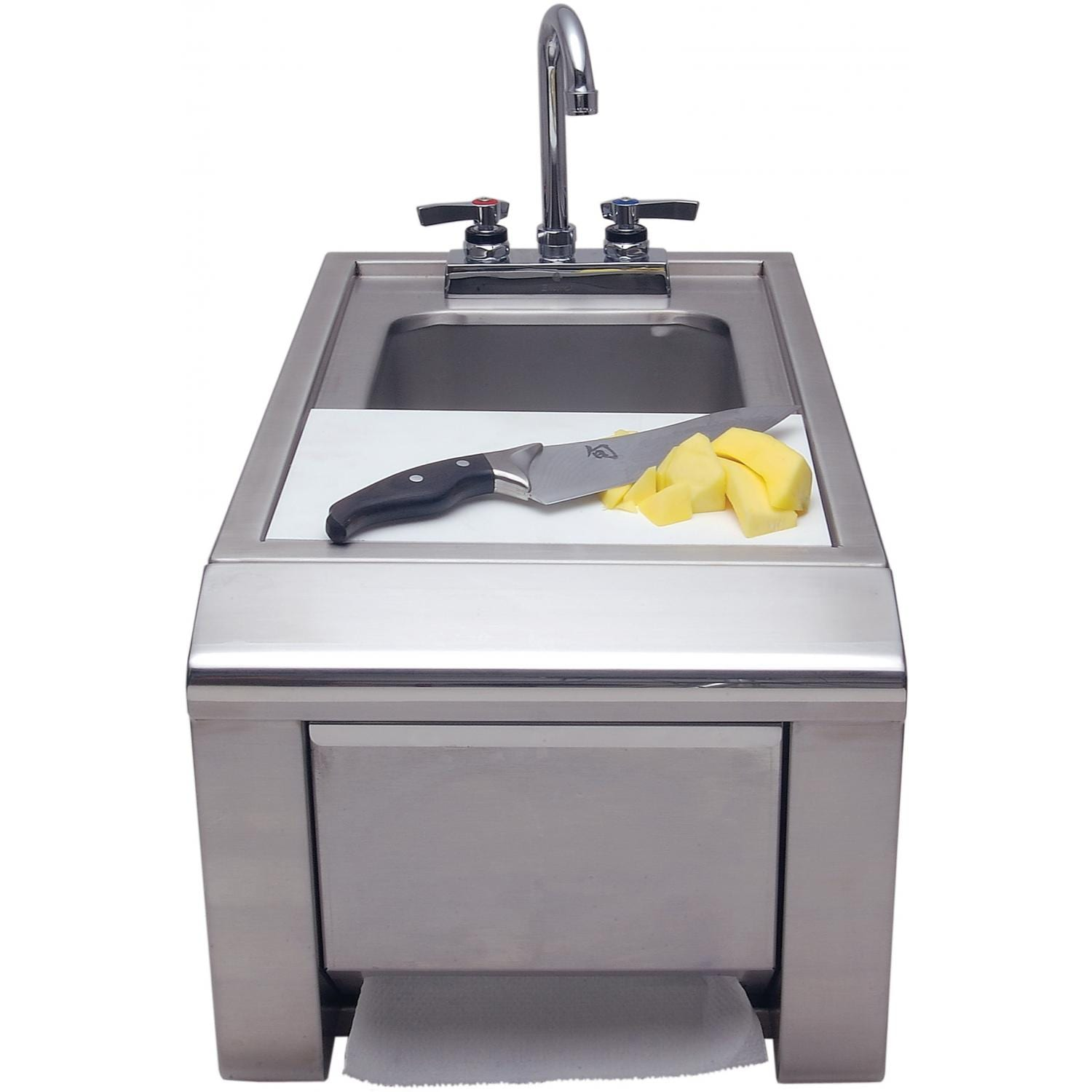 Delicieux Alfresco Prep Wash Sink Plus Towel Dispenser