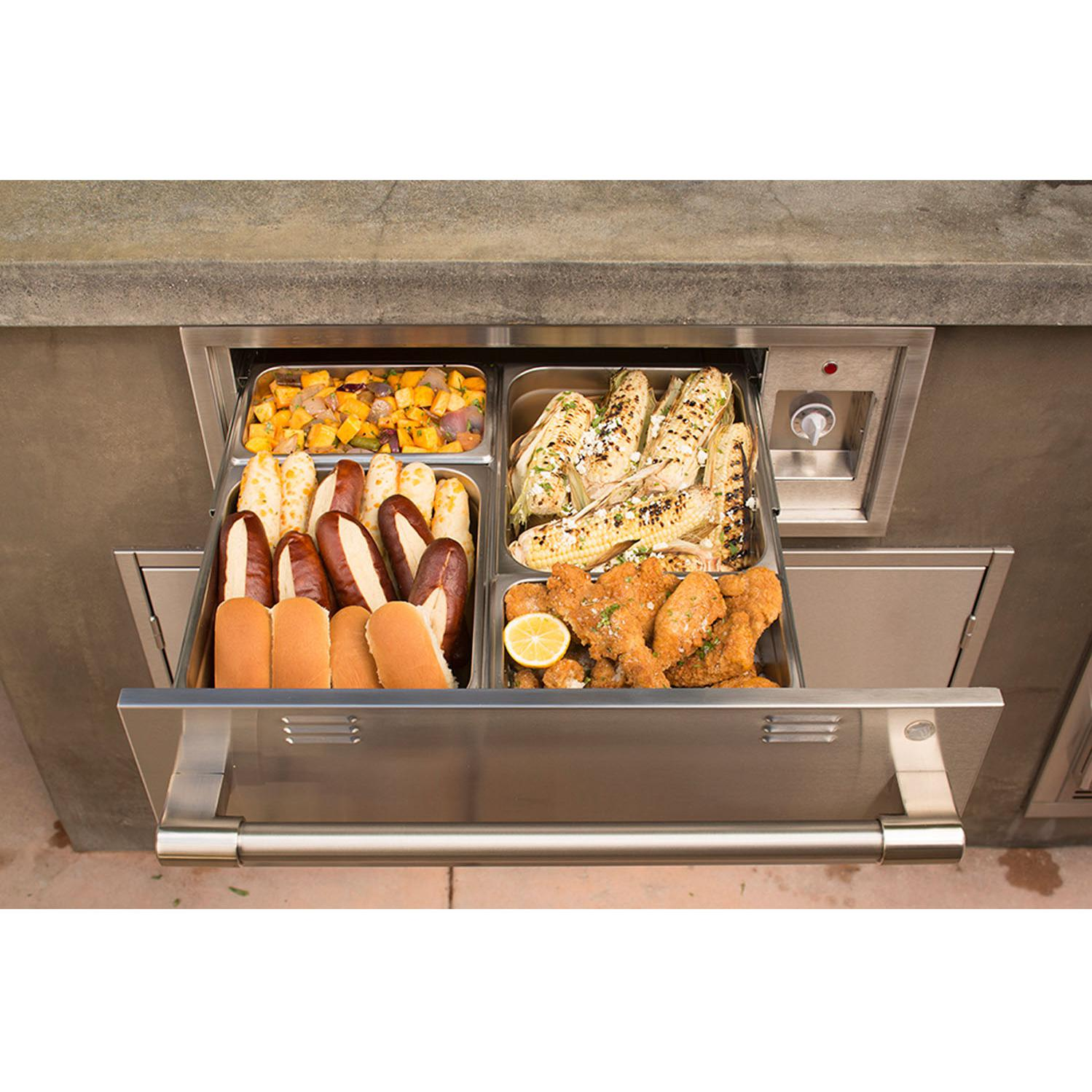 Alfresco 30-Inch Electric Warming Drawer