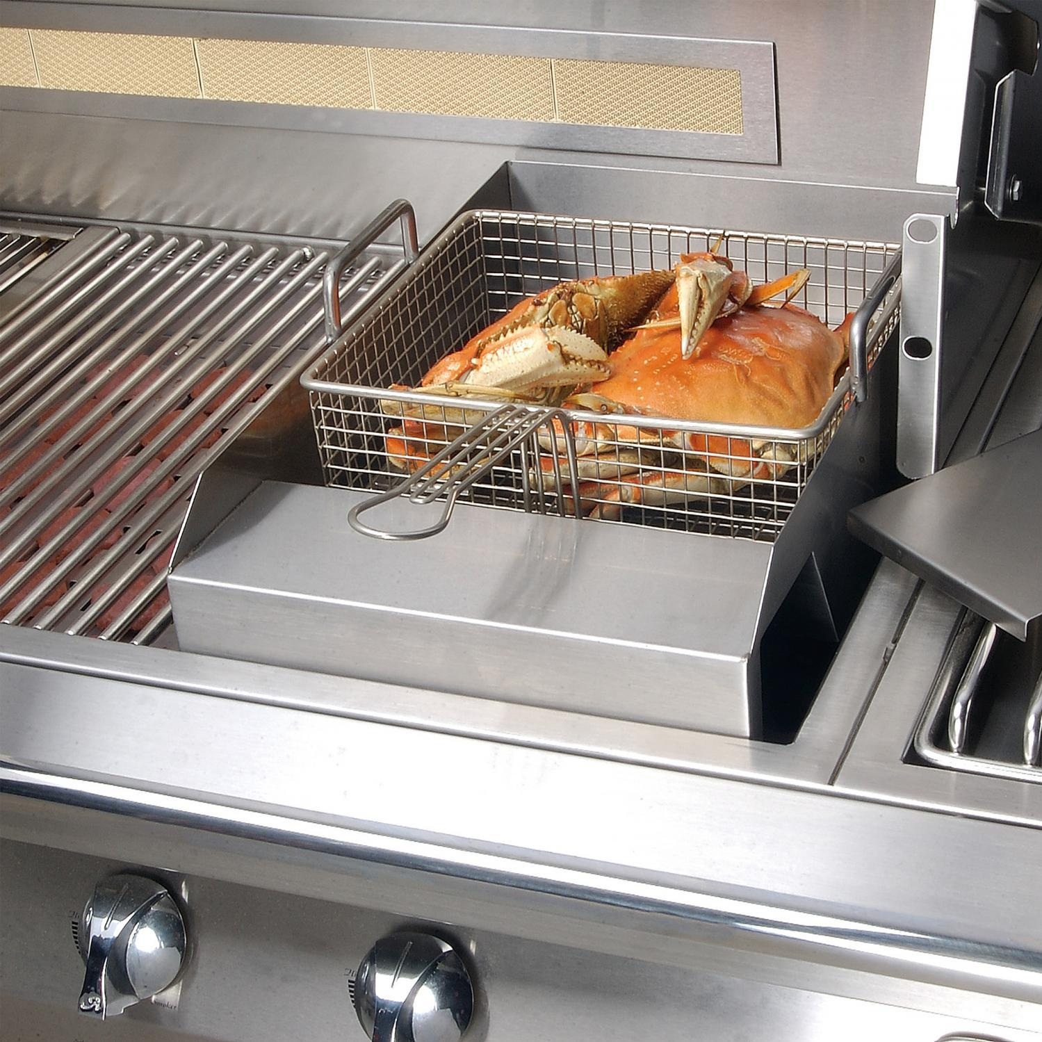 Alfresco Steamer Fryer